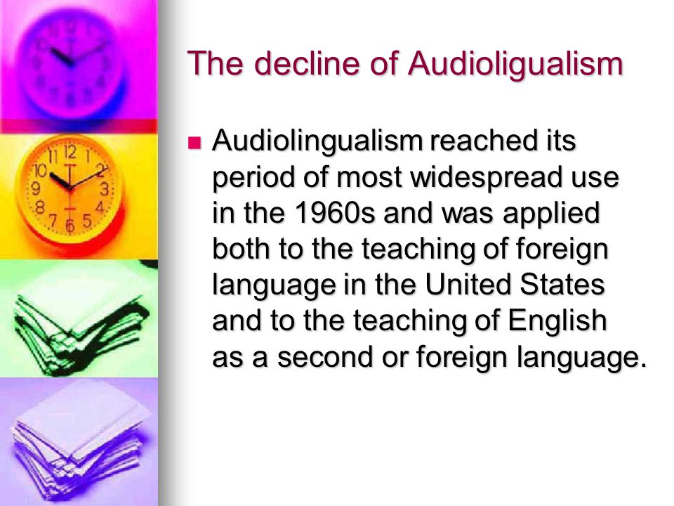 The decline of Audioligualism