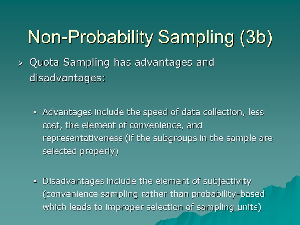 a description pf probability sampling which involves the use of chance in selecting a sample Selecting a sampling • each element in the population has a known and equal chance of selection• a sample is drawn by a random probability sampling.