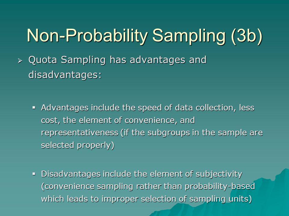 Non-Probability Sampling (3b)
