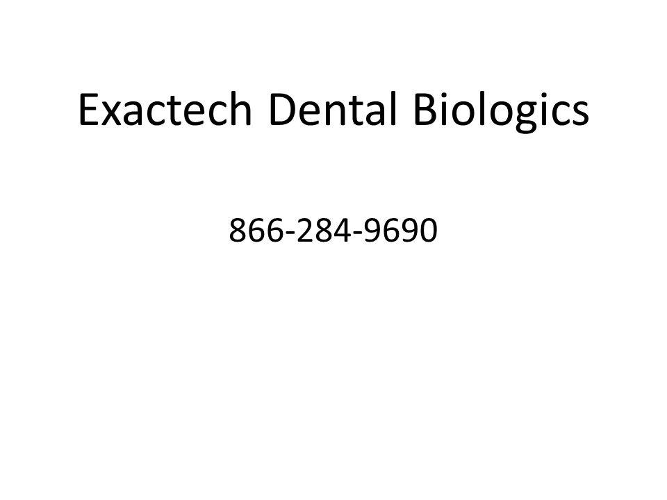 Exactech Dental Biologics