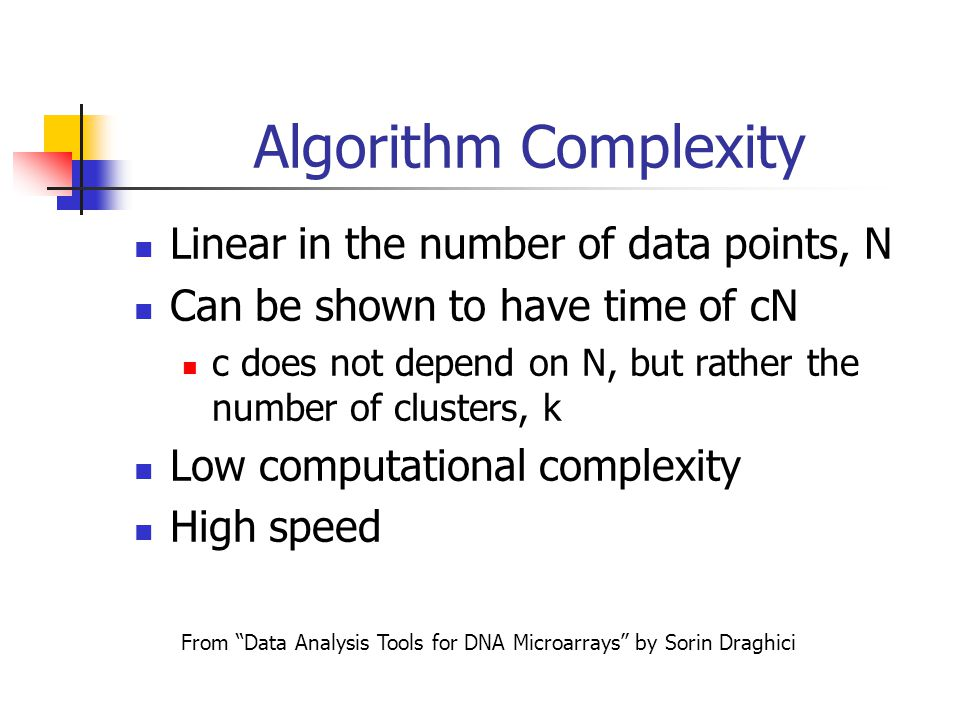 From Data Analysis Tools for DNA Microarrays by Sorin Draghici