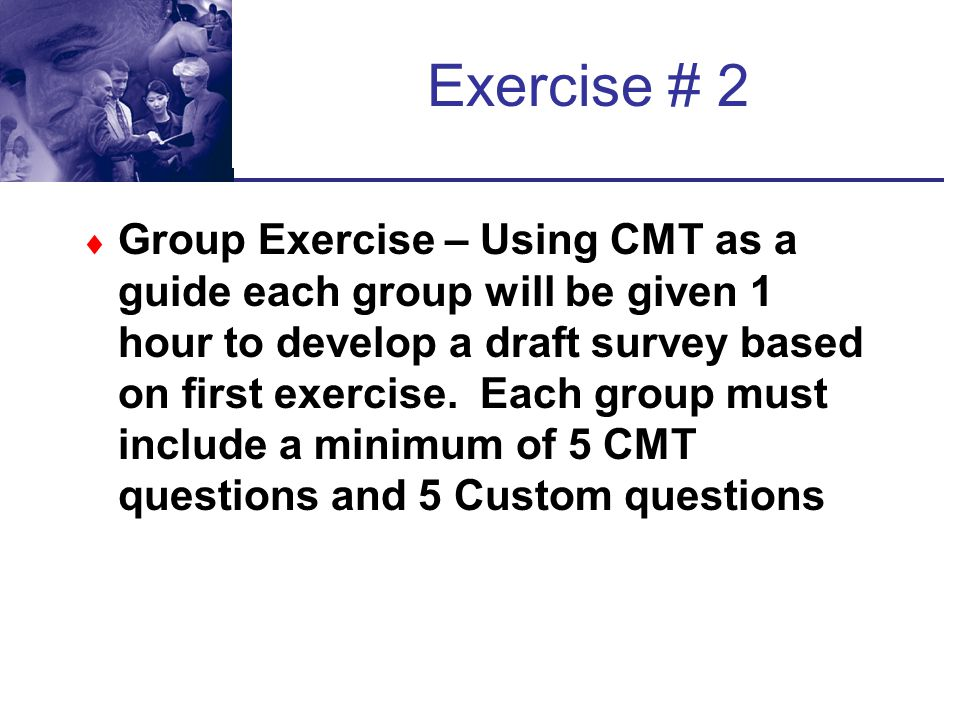 Exercise # 2