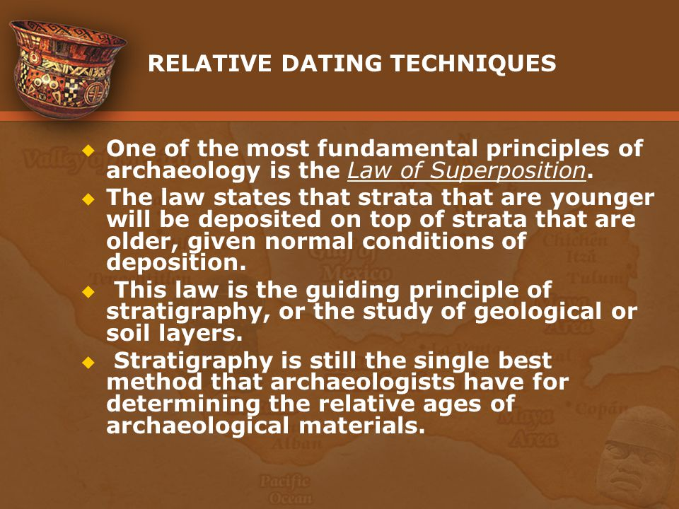 relative and actual dating techniques
