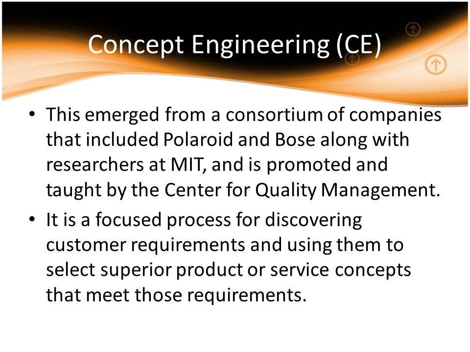 Concept Engineering (CE)