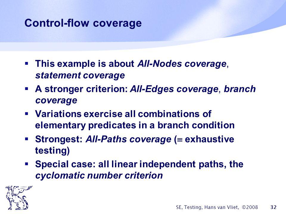 Control-flow coverage