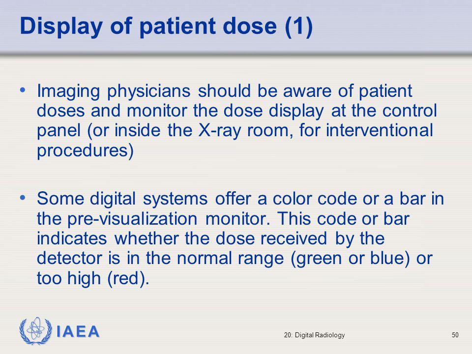 Display of patient dose (1)