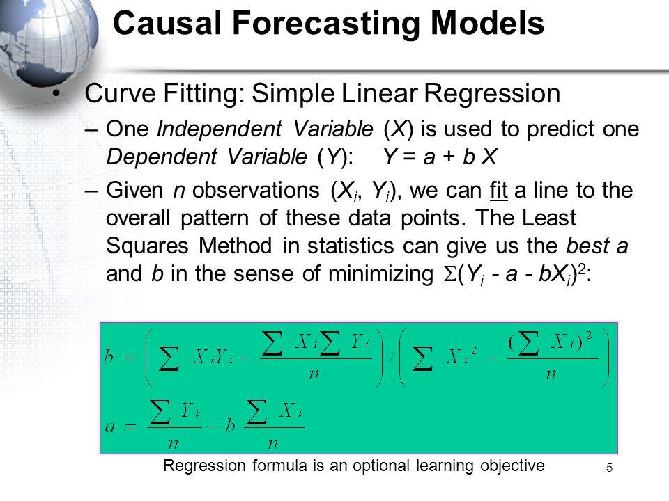 Causal Forecasting Models