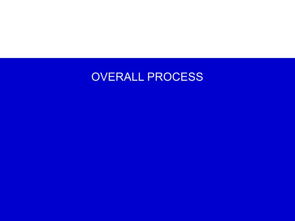 OVERALL PROCESS