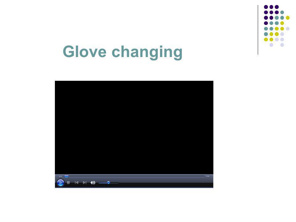 Glove changing