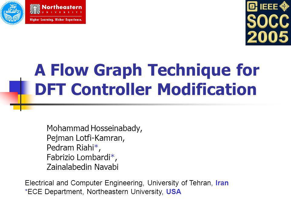 A Flow Graph Technique for DFT Controller Modification
