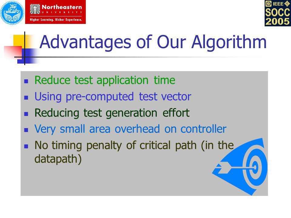 Advantages of Our Algorithm