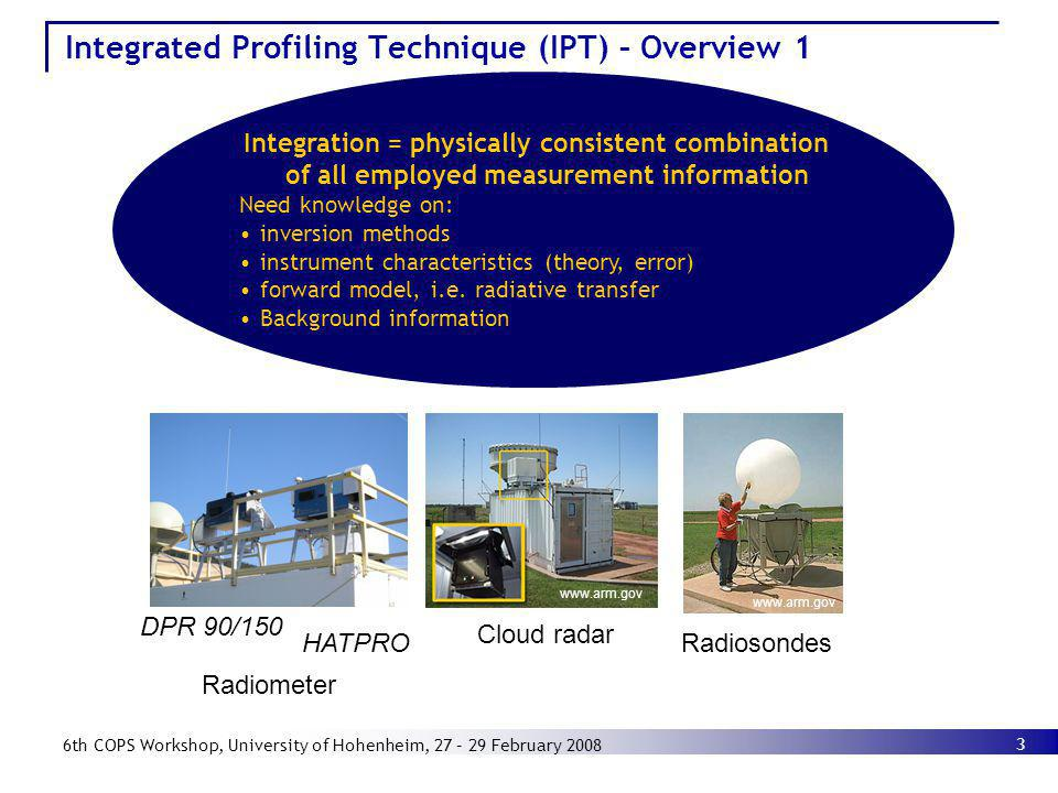 Integrated Profiling Technique (IPT) – Overview 1