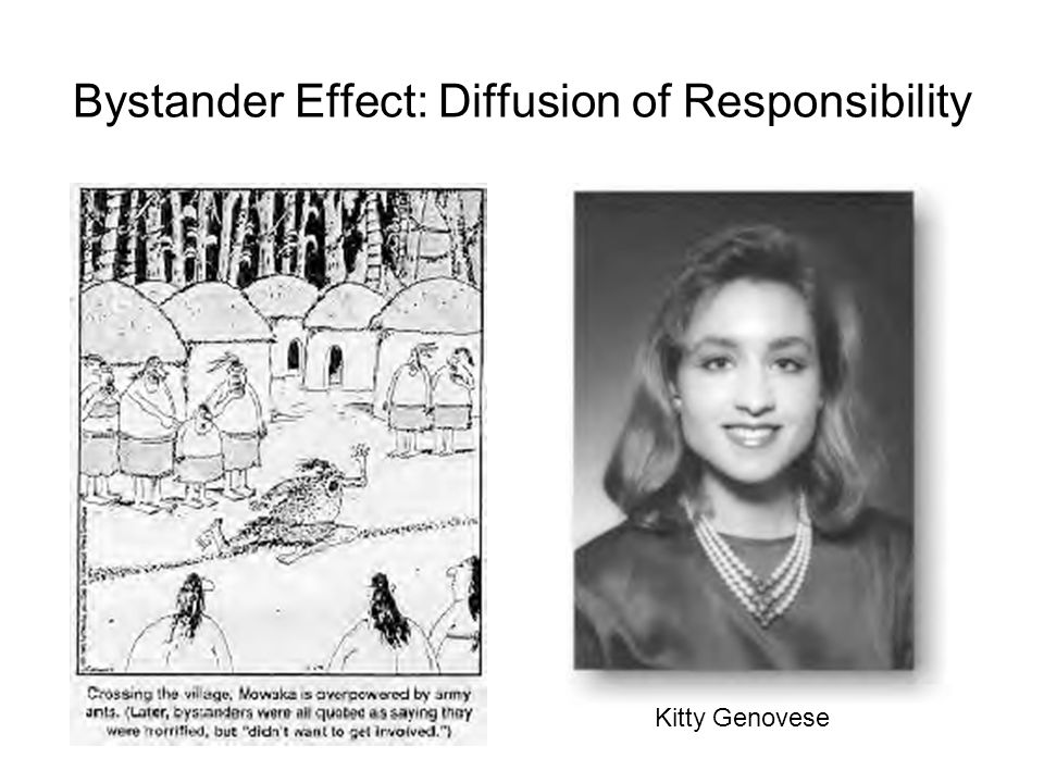 Bystander Effect: Diffusion of Responsibility