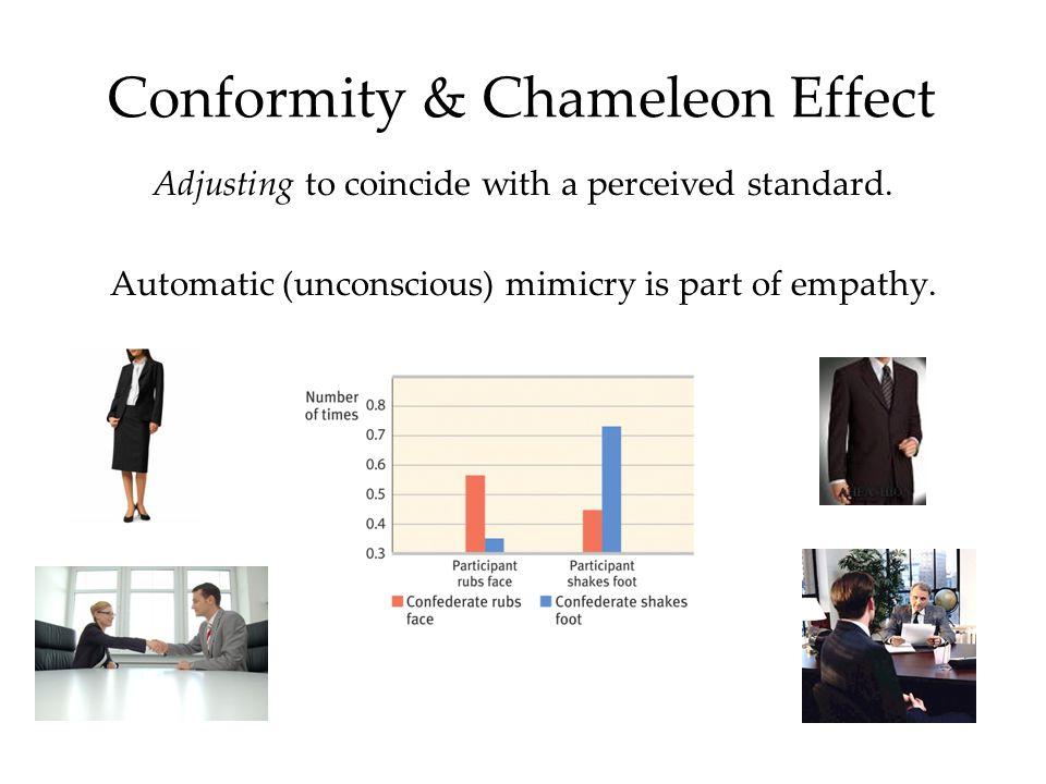 Conformity & Chameleon Effect