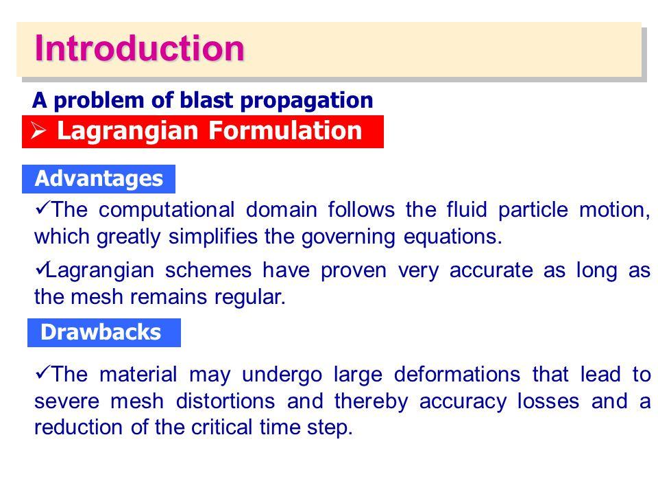 A problem of blast propagation
