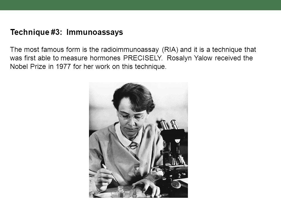 Technique #3: Immunoassays