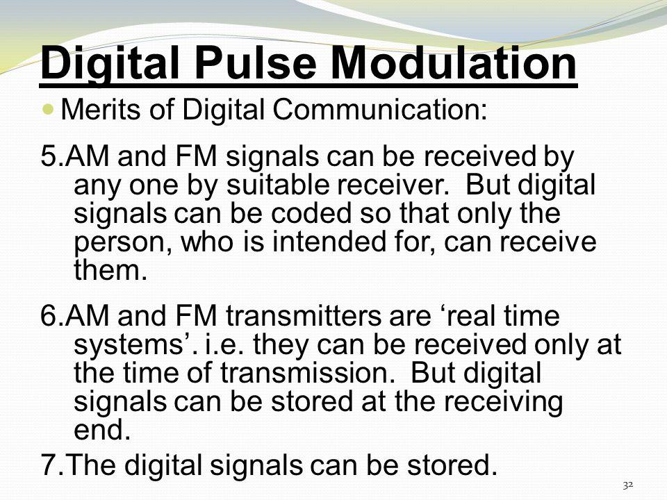 Digital Pulse Modulation