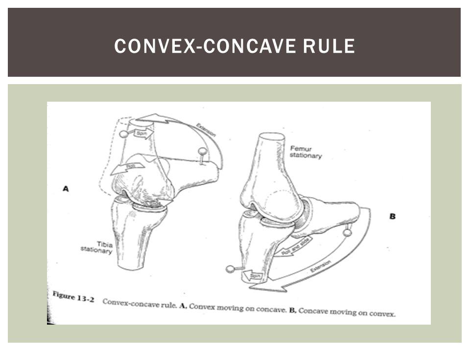 Convex-Concave rule