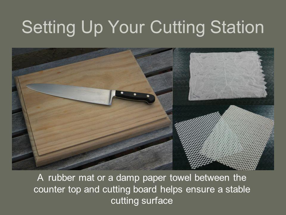 Setting Up Your Cutting Station