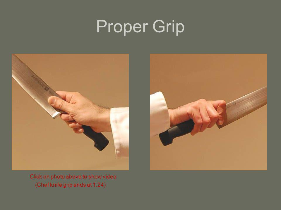 Proper Grip Click on photo above to show video
