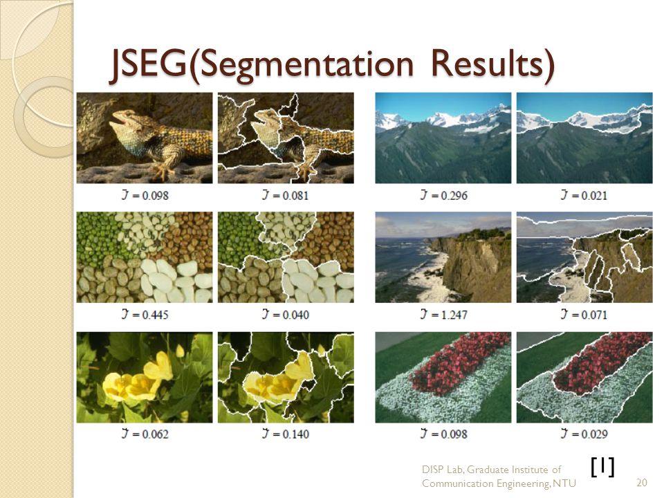 JSEG(Segmentation Results)