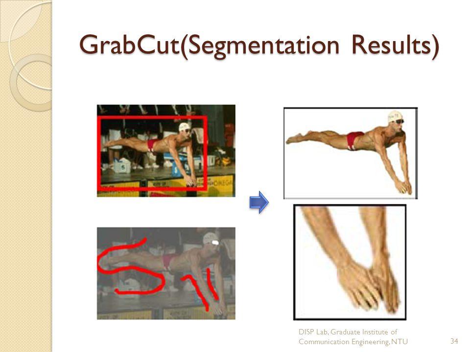 GrabCut(Segmentation Results)