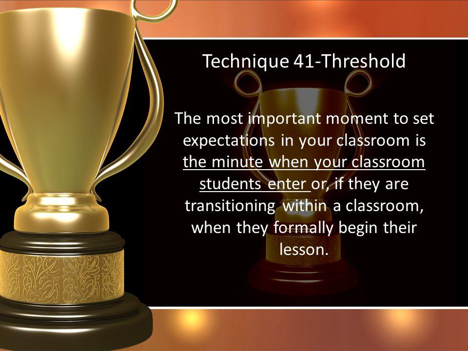 Technique 41-Threshold