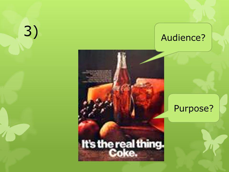 3) Audience Purpose