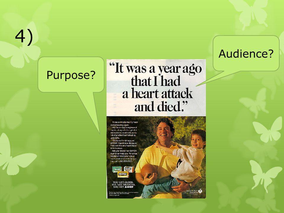 4) Audience Purpose