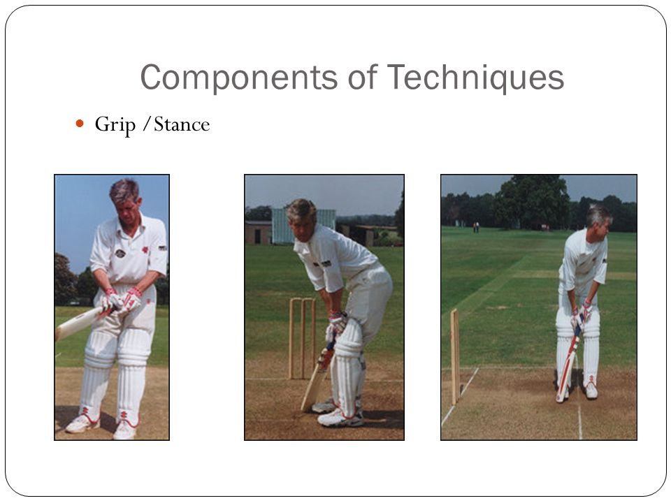 Components of Techniques