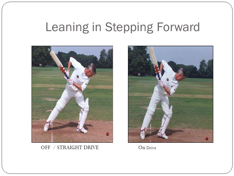 Leaning in Stepping Forward