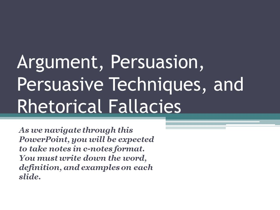 bias fallacies and specific rhetorical devices Ias, fallacies, and specific rhetorical devices in the speech listen to the speech at moviespeechcitizenkane2html by clicking the audio mp3 link located below.