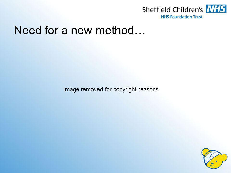 Need for a new method… Image removed for copyright reasons