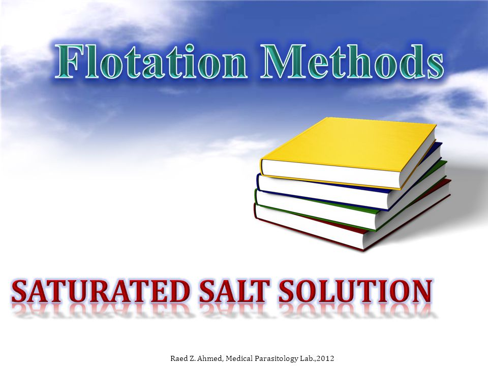 Saturated salt solution