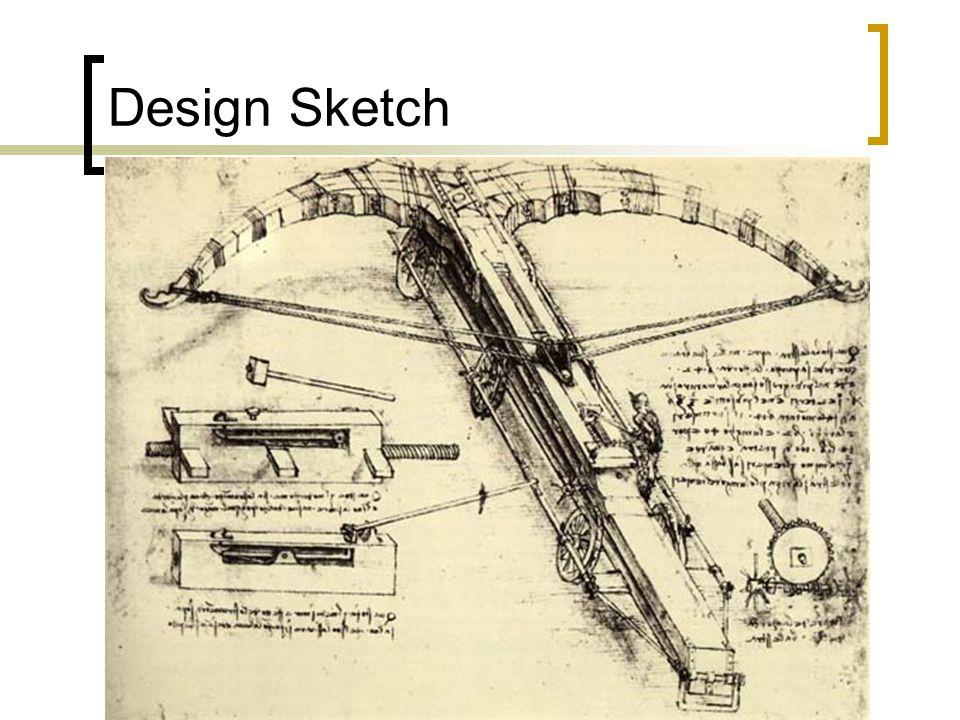 Design Sketch Leonardo Divinci sketch