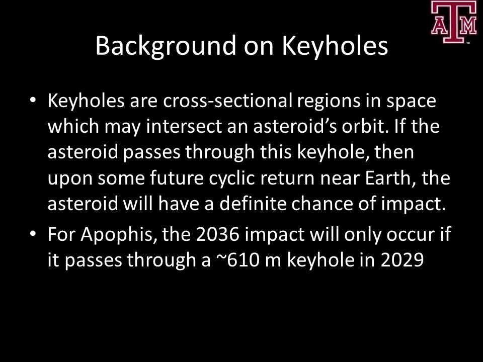 Background on Keyholes