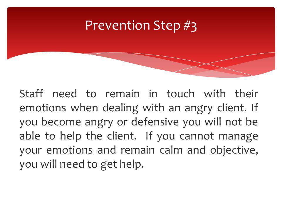 Prevention Step #3