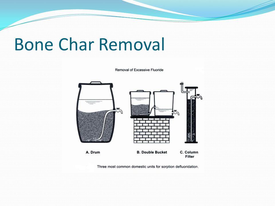 Bone Char Removal