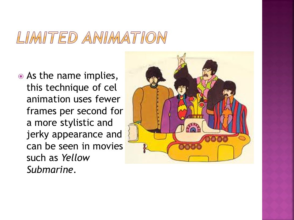 Limited Animation