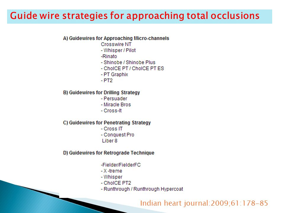 Guide wire strategies for approaching total occlusions