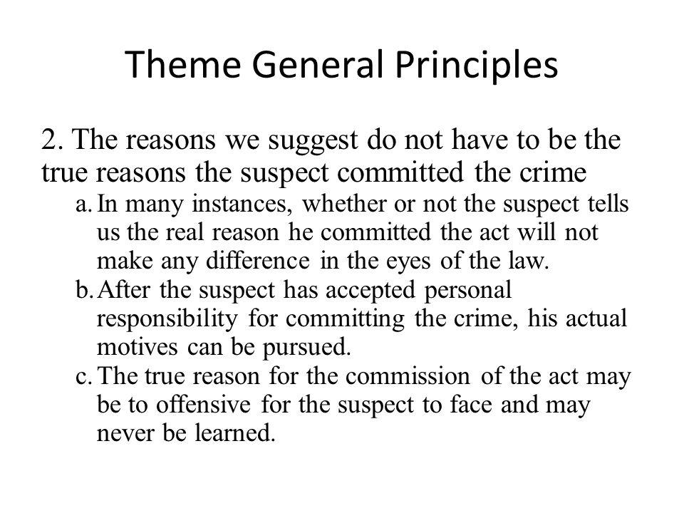 Theme General Principles