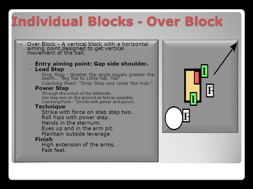 Individual Blocks - Over Block