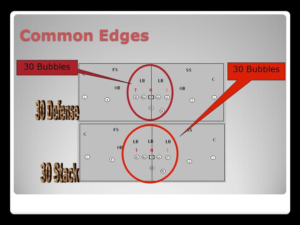 Common Edges 30 Bubbles 30 Bubbles 30 Defense 30 Stack