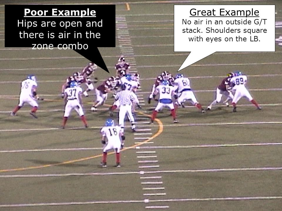 Hips are open and there is air in the zone combo Great Example