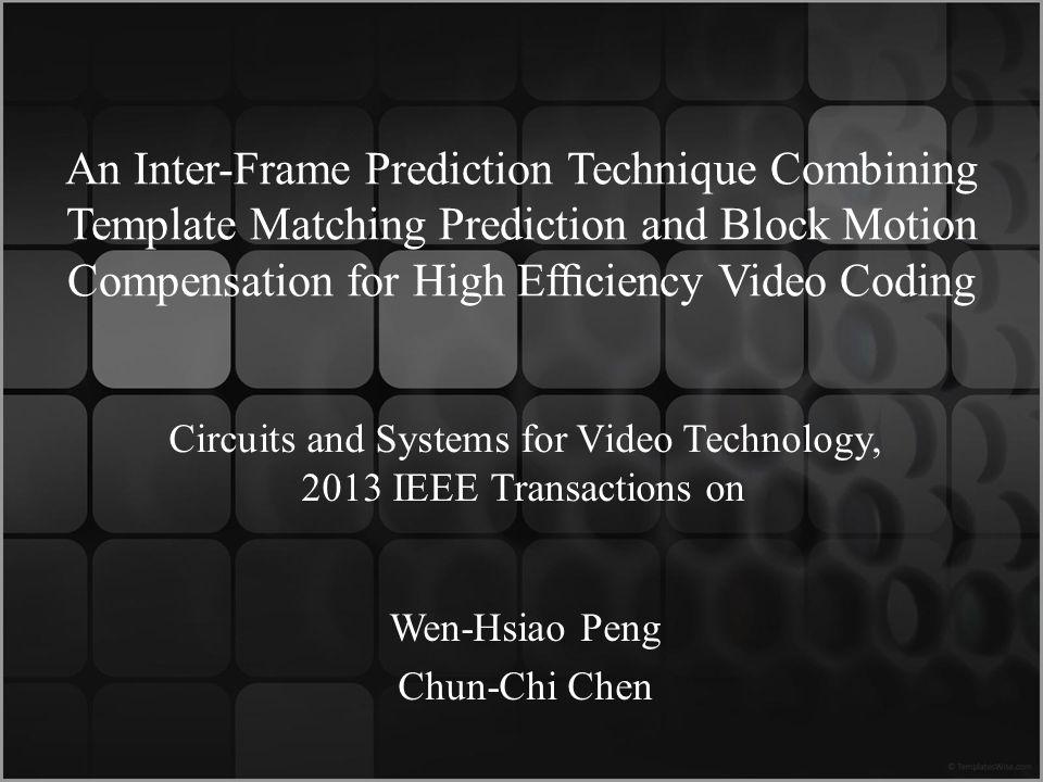 Wen-Hsiao Peng Chun-Chi Chen