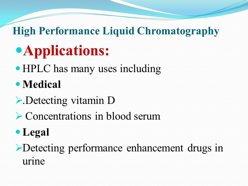 uses of hplc chromatography Seperation Techniques for Biomolecules - ppt video online download