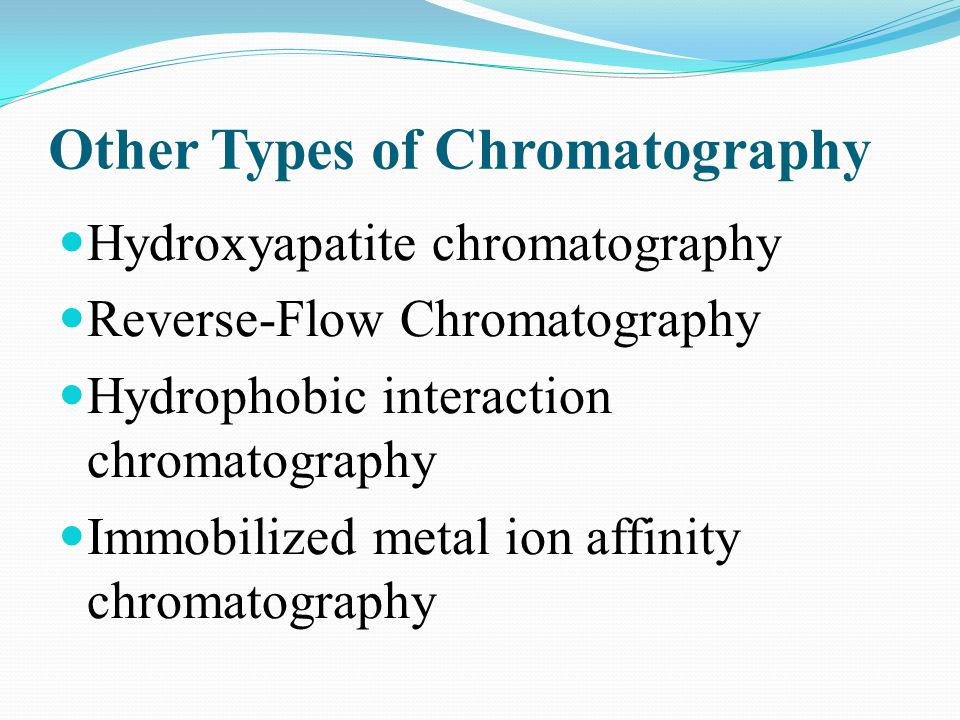 Other Types of Chromatography