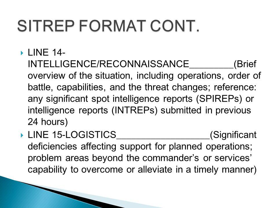 intelligence brief format - Dolap.magnetband.co