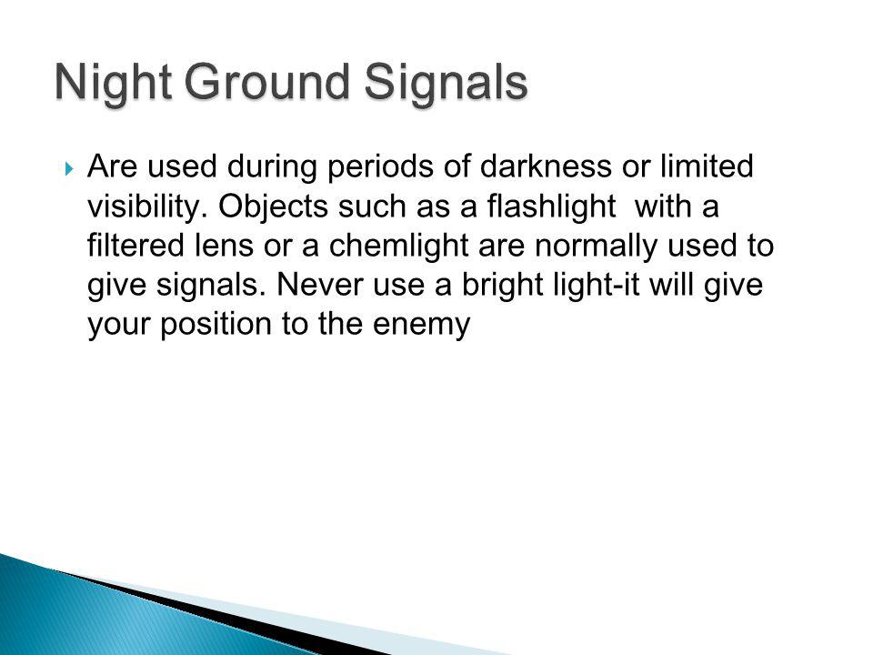 Night Ground Signals