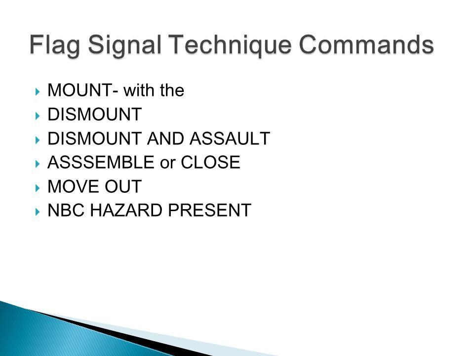 Flag Signal Technique Commands